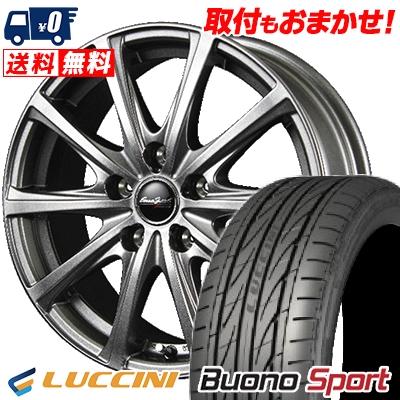 225/45R17 LUCCINI ルッチーニ Buono Sport ヴォーノ スポーツ EuroSpeed V25 ユーロスピード V25 サマータイヤホイール4本セット