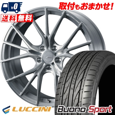 235/40R18 95W XL LUCCINI ルッチーニ Buono Sport ヴォーノ スポーツ WEDS F ZERO FZ-1 ウェッズ エフゼロ FZ-1 サマータイヤホイール4本セット
