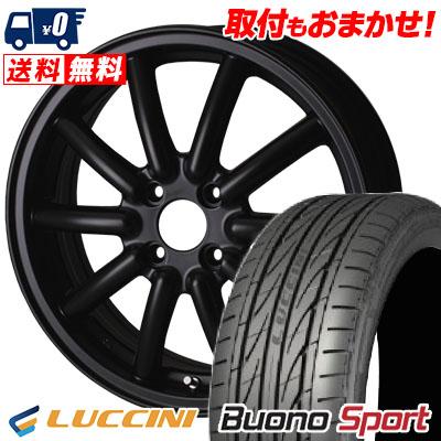 165/55R15 LUCCINI ルッチーニ Buono Sport ヴォーノ スポーツ Fenice RX1 フェニーチェ RX1 サマータイヤホイール4本セット