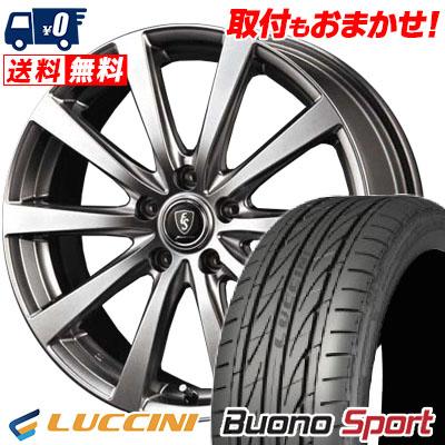 225/45R17 94V XL LUCCINI ルッチーニ Buono Sport ヴォーノ スポーツ Euro Speed G10 ユーロスピード G10 サマータイヤホイール4本セット