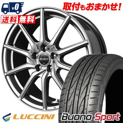 215/55R16 97V XL LUCCINI ルッチーニ Buono Sport ヴォーノ スポーツ EuroSpeed G810 ユーロスピード G810 サマータイヤホイール4本セット