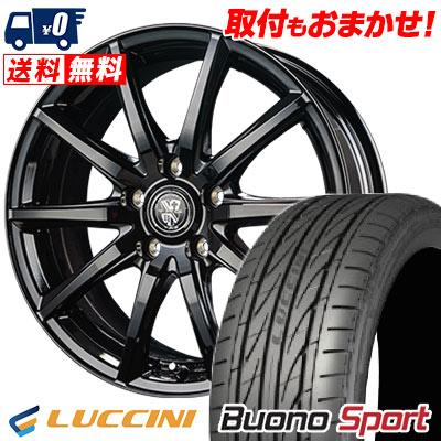225/45R17 94V XL LUCCINI ルッチーニ Buono Sport ヴォーノ スポーツ TRG-GB10 TRG GB10 サマータイヤホイール4本セット
