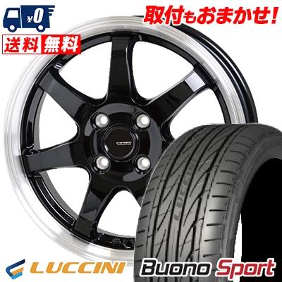 205/45R16 87V XL LUCCINI ルッチーニ Buono Sport ヴォーノ スポーツ G.speed P-03 ジースピード P-03 サマータイヤホイール4本セット