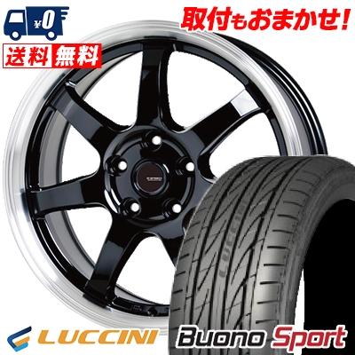 215/55R16 97V XL LUCCINI ルッチーニ Buono Sport ヴォーノ スポーツ G.speed P-03 ジースピード P-03 サマータイヤホイール4本セット
