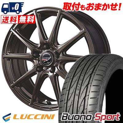 225/55R17 101W XL LUCCINI ルッチーニ Buono Sport ヴォーノ スポーツ FINALSPEED GR-Volt ファイナルスピード GRボルト サマータイヤホイール4本セット