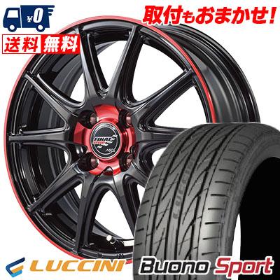 205/45R16 87V XL LUCCINI ルッチーニ Buono Sport ヴォーノ スポーツ FINALSPEED GR-Volt ファイナルスピード GRボルト サマータイヤホイール4本セット