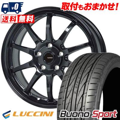 215/55R16 97V XL LUCCINI ルッチーニ Buono Sport ヴォーノ スポーツ G.speed G-04 Gスピード G-04 サマータイヤホイール4本セット