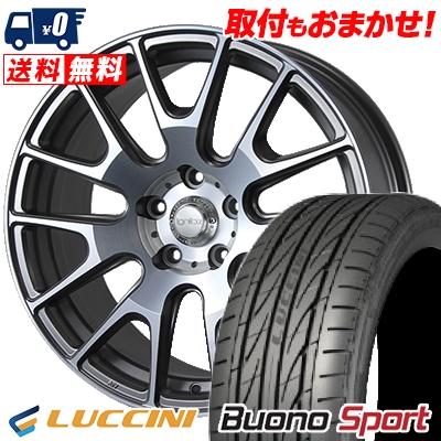 215/40R18 LUCCINI ルッチーニ Buono Sport ヴォーノ スポーツ IGNITE XTRACK イグナイト エクストラック サマータイヤホイール4本セット