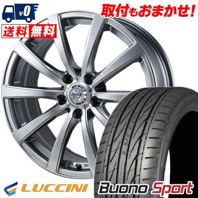 225/45R17 94V XL LUCCINI ルッチーニ Buono Sport ヴォーノ スポーツ ZACK JP-110 ザック JP110 サマータイヤホイール4本セット
