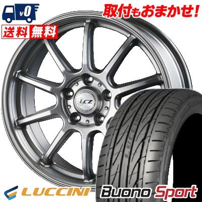 205/50R17 93W XL LUCCINI ルッチーニ Buono Sport ヴォーノ スポーツ LCZ010 LCZ010 サマータイヤホイール4本セット