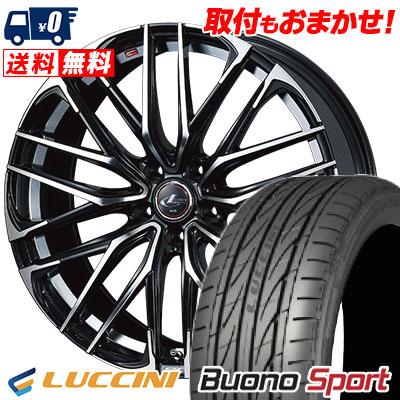 235/40R18 95W XL LUCCINI ルッチーニ Buono Sport ヴォーノ スポーツ WEDS LEONIS SK ウェッズ レオニスSK サマータイヤホイール4本セット