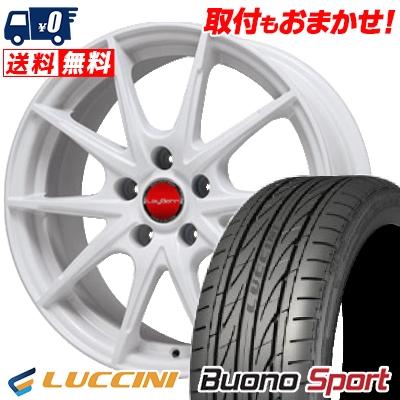 215/40R18 LUCCINI ルッチーニ Buono Sport ヴォーノ スポーツ LeyBahn WGS レイバーン WGS サマータイヤホイール4本セット