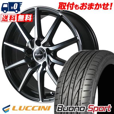 225/55R16 95V LUCCINI ルッチーニ Buono Sport ヴォーノ スポーツ EuroSpeed S810 ユーロスピード S810 サマータイヤホイール4本セット