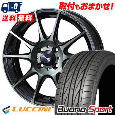 205/45R16 87V XL LUCCINI ルッチーニ Buono Sport ヴォーノ スポーツ WedsSport SA-25R ウェッズスポーツ SA-25R サマータイヤホイール4本セット