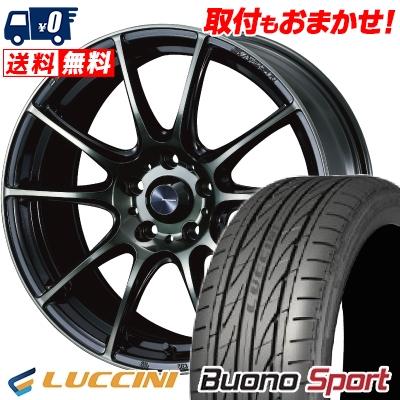 235/40R18 95W XL LUCCINI ルッチーニ Buono Sport ヴォーノ スポーツ WedsSport SA-25R ウェッズスポーツ SA-25R サマータイヤホイール4本セット