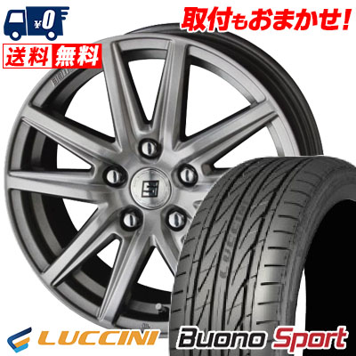 235/40R18 95W XL LUCCINI ルッチーニ Buono Sport ヴォーノ スポーツ SEIN SS ザイン エスエス サマータイヤホイール4本セット