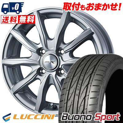 165/50R15 72V LUCCINI ルッチーニ Buono Sport ヴォーノ スポーツ JOKER SHAKE ジョーカー シェイク サマータイヤホイール4本セット