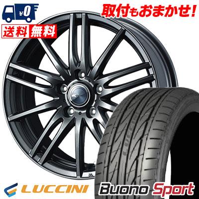 215/55R16 97V XL LUCCINI ルッチーニ Buono Sport ヴォーノ スポーツ Zamik Tito ザミック ティート サマータイヤホイール4本セット