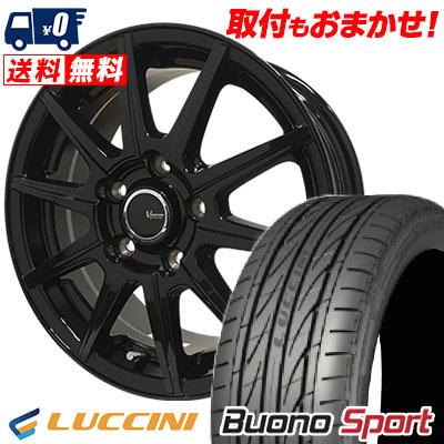 235/40R18 95W XL LUCCINI ルッチーニ Buono Sport ヴォーノ スポーツ V-EMOTION BR10 Vエモーション BR10 サマータイヤホイール4本セット