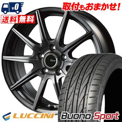 215/40R18 89W XL LUCCINI ルッチーニ Buono Sport ヴォーノ スポーツ V-EMOTION GS10 Vエモーション GS10 サマータイヤホイール4本セット