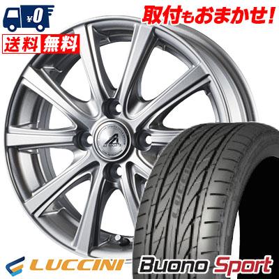 205/45R16 87V XL LUCCINI ルッチーニ Buono Sport ヴォーノ スポーツ AZ sports YL-10 AZスポーツ YL-10 サマータイヤホイール4本セット