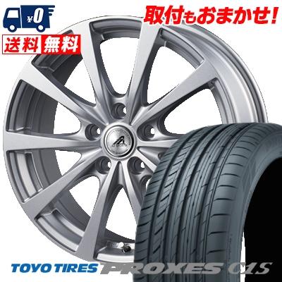 215/45R17 91W TOYO TIRES トーヨー タイヤ PROXES C1S プロクセス C1S AZ SPORTS EX10 AZスポーツ EX10 サマータイヤホイール4本セット