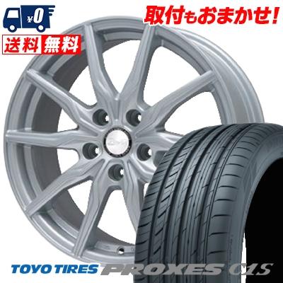 215/65R15 TOYO TIRES トーヨー タイヤ PROXES C1S プロクセス C1S B-WIN KRX B-WIN KRX サマータイヤホイール4本セット