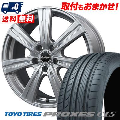 205/65R15 94V TOYO TIRES トーヨー タイヤ PROXES C1S プロクセス C1S EuroSpeed C-07 ユーロスピード C-07 サマータイヤホイール4本セット