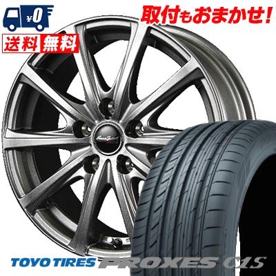 215/60R16 TOYO TIRES トーヨー タイヤ PROXES C1S プロクセス C1S EuroSpeed V25 ユーロスピード V25 サマータイヤホイール4本セット