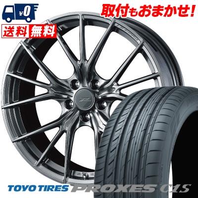 245/40R20 99W XL TOYO TIRES トーヨー タイヤ PROXES C1S プロクセスC1S WEDS F ZERO FZ-1 ウェッズ エフゼロ FZ-1 サマータイヤホイール4本セット