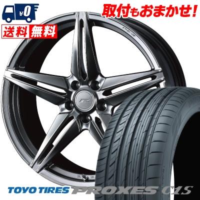 215/45R18 93W TOYO TIRES トーヨー タイヤ PROXES C1S プロクセス C1S WEDS F ZERO FZ-3 ウェッズ エフゼロ FZ-3 サマータイヤホイール4本セット
