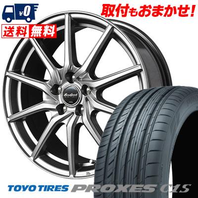 195/65R15 91V TOYO TIRES トーヨー タイヤ PROXES C1S プロクセス C1S EuroSpeed G810 ユーロスピード G810 サマータイヤホイール4本セット