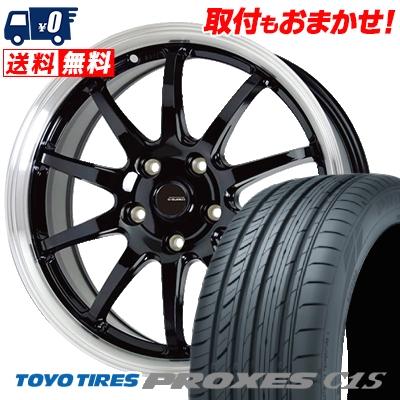 225/50R16 96W TOYO TIRES トーヨー タイヤ PROXES C1S プロクセスC1S G.speed P-04 ジースピード P-04 サマータイヤホイール4本セット