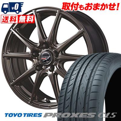 205/65R15 94V TOYO TIRES トーヨー タイヤ PROXES C1S プロクセス C1S FINALSPEED GR-Volt ファイナルスピード GRボルト サマータイヤホイール4本セット