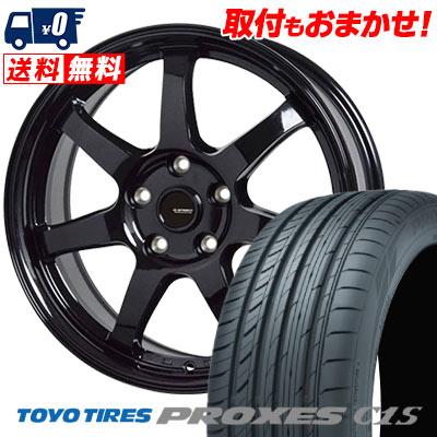 215/65R15 96V TOYO TIRES トーヨー タイヤ PROXES C1S プロクセス C1S G.speed G-03 Gスピード G-03 サマータイヤホイール4本セット