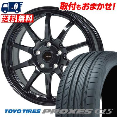 245/45R18 100W TOYO TIRES トーヨー タイヤ PROXES C1S プロクセスC1S G.speed G-04 Gスピード G-04 サマータイヤホイール4本セット