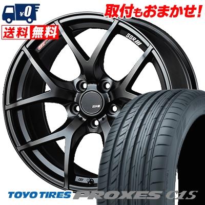 215/50R17 95W TOYO TIRES トーヨータイヤ PROXES C1S プロクセス C1S SSR GTV03 SSR GTV03 サマータイヤホイール4本セット