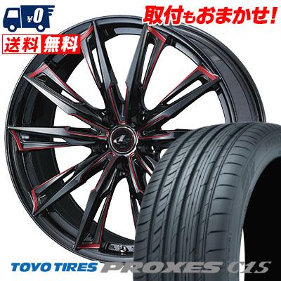 235/40R18 95W TOYO TIRES トーヨー タイヤ PROXES C1S プロクセスC1S WEDS LEONIS GX ウェッズ レオニス GX サマータイヤホイール4本セット