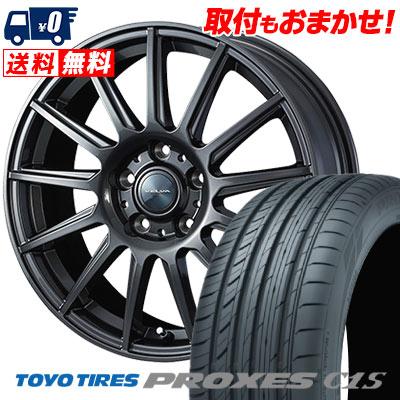 205/65R15 94V TOYO TIRES トーヨー タイヤ PROXES C1S プロクセス C1S VELVA IGOR ヴェルヴァ イゴール サマータイヤホイール4本セット【取付対象】