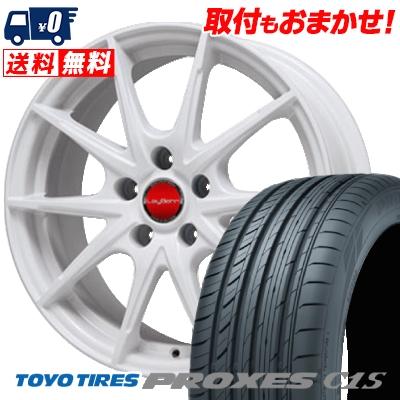 225/50R16 TOYO TIRES トーヨー タイヤ PROXES C1S プロクセスC1S LeyBahn WGS レイバーン WGS サマータイヤホイール4本セット