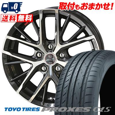 215/65R15 96V TOYO TIRES トーヨー タイヤ PROXES C1S プロクセス C1S SMACK REVILA スマック レヴィラ サマータイヤホイール4本セット