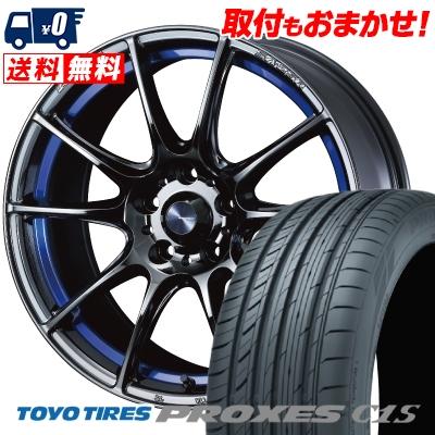 225 40R18 92W TOYO TIRES トーヨー タイヤ PROXES C1S プロクセスC1S WedsSport SA-25R ウェッズスポーツ SA-25R サマータイヤホイール4本セット 取付対象 品質保証,限定セール