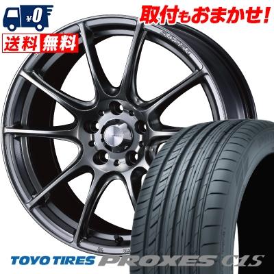 225/55R16 99W TOYO TIRES トーヨー タイヤ PROXES C1S プロクセスC1S WedsSport SA-25R ウェッズスポーツ SA-25R サマータイヤホイール4本セット