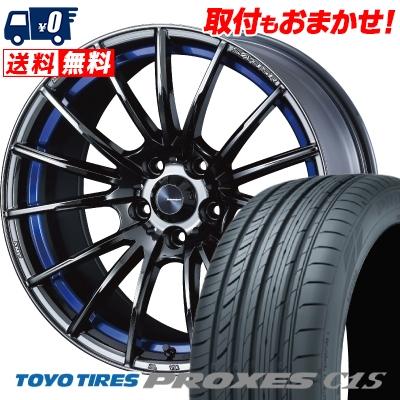 235/40R18 95W TOYO TIRES トーヨー タイヤ PROXES C1S プロクセスC1S WedsSport SA-35R ウェッズスポーツ SA-35R サマータイヤホイール4本セット