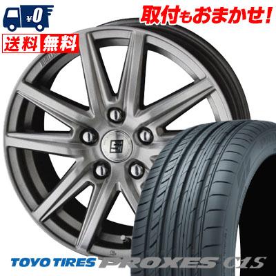 245/45R18 100W TOYO TIRES トーヨー タイヤ PROXES C1S プロクセスC1S SEIN SS ザイン エスエス サマータイヤホイール4本セット