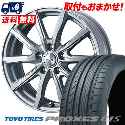 205/65R16 95W TOYO TIRES トーヨー タイヤ PROXES C1S プロクセス C1S JOKER SHAKE ジョーカー シェイク サマータイヤホイール4本セット