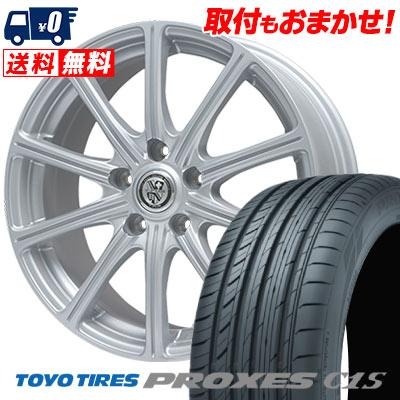 215/65R15 96V TOYO TIRES トーヨー タイヤ PROXES C1S プロクセス C1S TRG-SS10 TRG SS10 サマータイヤホイール4本セット