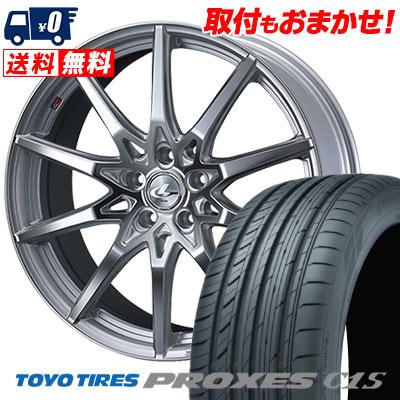 245/35R19 93W TOYO TIRES トーヨー タイヤ PROXES C1S プロクセスC1S weds LEONIS SV ウェッズ レオニス SV サマータイヤホイール4本セット