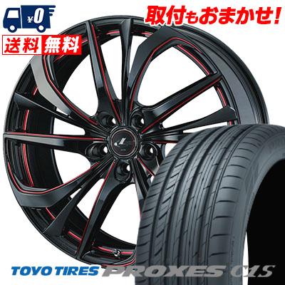 245/35R19 93W TOYO TIRES トーヨー タイヤ PROXES C1S プロクセスC1S weds LEONIS TE ウェッズ レオニス TE サマータイヤホイール4本セット