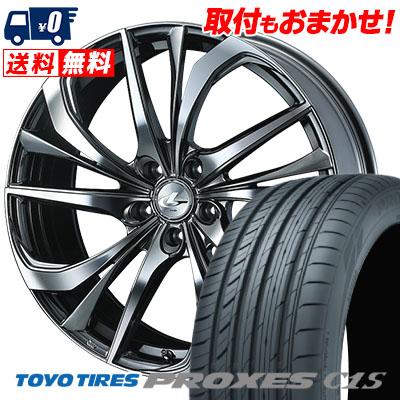 245/40R20 99W XL TOYO TIRES トーヨー タイヤ PROXES C1S プロクセスC1S weds LEONIS TE ウェッズ レオニス TE サマータイヤホイール4本セット